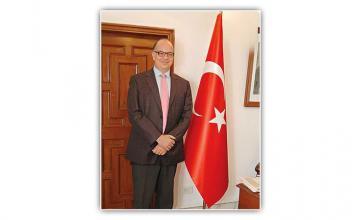 MURAT MUSTAFA ONART - Tête-à-Tête with Turkish Chargé d'affaires