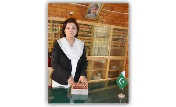 AMNA ZAMIR - The first female JUDGE of Gilgit-Baltistan