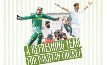 A REFRESHING YEAR FOR PAKISTAN CRICKET