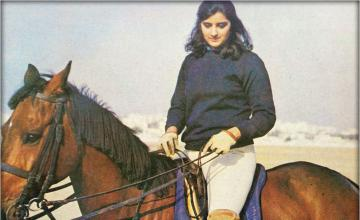 SEHR SAEED - Unique Lady With A Zest For Polo (Part I)