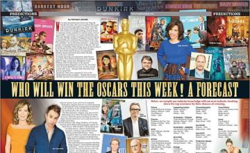 WHO WILL WIN THE OSCARS THIS WEEK! A FORECAST