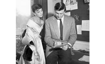 The Fashionable Friendship of Audrey Hepburn And Hubert de Givenchy