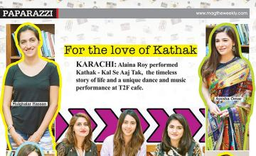 For the love of Kathak