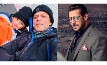 SRK reveals how AbRam is just like Salman
