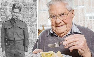 100-year-old man says key to long life is never skipping dessert