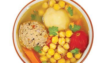 Kufte Bozbash Azeri Meatball Soup