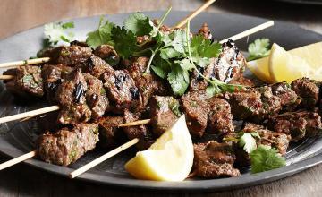 Moroccan Beef Kebab