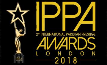 IPPA 2nd International Pakistan Prestige Awards 2018