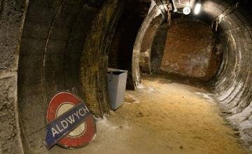 Abandoned for decades, a central London tunnel was a dumping ground for corpses once