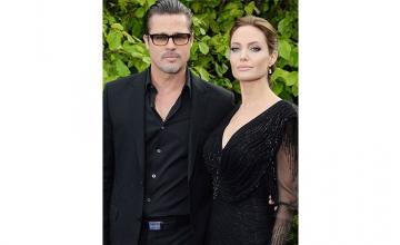 Jolie Misses Brad