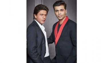 SRK can't fake a laugh onscreen, reveals KJo