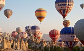Hot -air balloon ride, Cappadocia (Turkey)