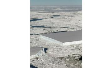 NASA spots mysterious near-perfect rectangle iceberg in Antarctic