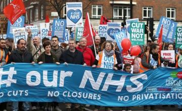 AUSTERITY DRIVE AND NATIONAL HEALTH SERVICE