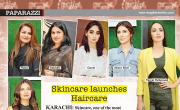 Skincare launches Haircare