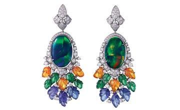 Cartier's Cote D'Azur Amour Earrings