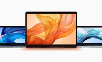A reinvented MacBook Air with a Retina display