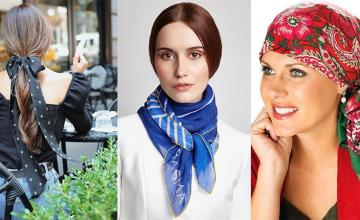 The beloved scarf; versatile and in vogue