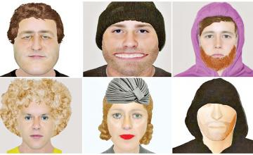 Guess who: The e-fit rogues gallery