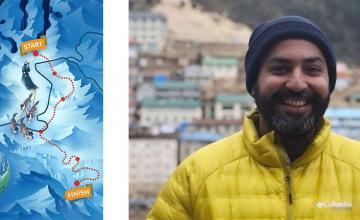 Jehangir Jamali determined to dog-sled across the Arctic