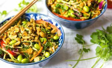 Spicy Raw Thai Salad
