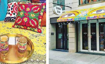 A 'chai dhaaba' in New York City