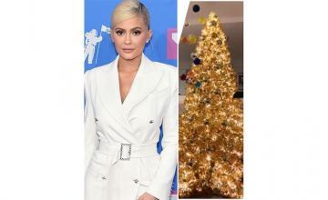 Kylie Jenner's 24K Gold Christmas Tree