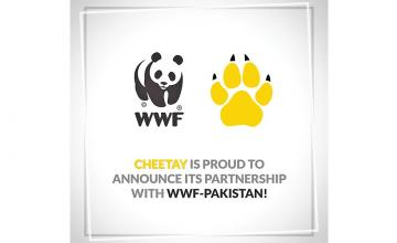 A joint venture by Cheetay and WWF-Pakistan