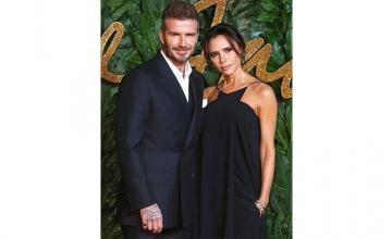 David, Victoria Beckham put in a frosty appearance at the British Fashion Awards