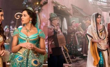 The real life versions of Aladdin, Jasmine, Genie, and Jaffar