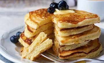 Fuss-Free Basic Pancakes