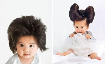 Baby Chanco: Internet hair sensation becomes face of a shampo brand