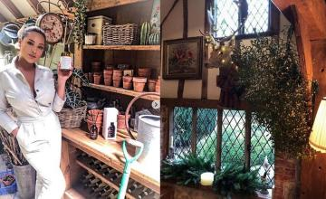 Inside Kelly Brook's quaint £1m farmhouse