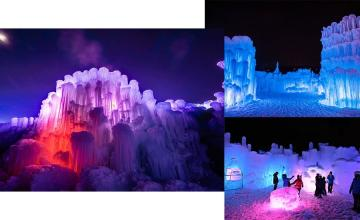 Wisconsin 'Ice Castle' set to open to the public