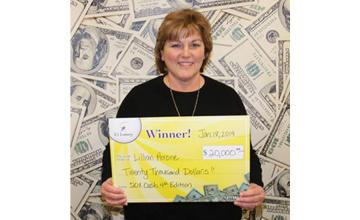 Clerk's lucky tip leads to $20,000 lottery jackpot