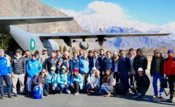 International Skiing comes back to Pakistan after a long hiatus
