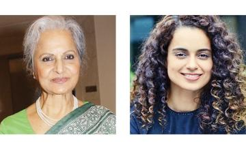 Waheeda Rehman proud of Kangana Ranaut for her work in Manikarnika