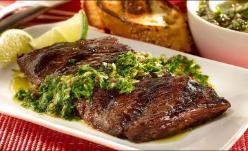 Cumin & onion marinated beef