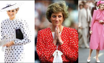 DIANA'S STYLE MOMENTS STILL ON TREND
