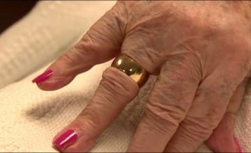 Woman reunited with wedding ring lost 50 years ago