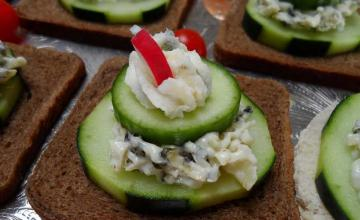 Cucumber Sandwich Appetisers
