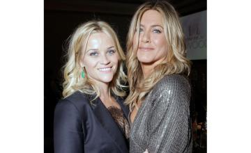 """Witherspoon-Aniston venture together in morning """"show-down"""""""