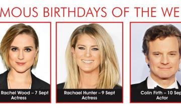 FAMOUS BIRTHDAY OF THE WEEK