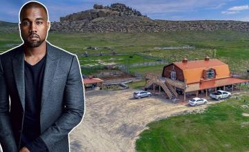 Kanye West just bought a $14 million ranch in Wyoming