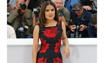 SALMA HAYEK excited to work – in a new Marvel movie