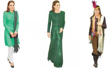 Kate Middleton's Eastern Wardrobe