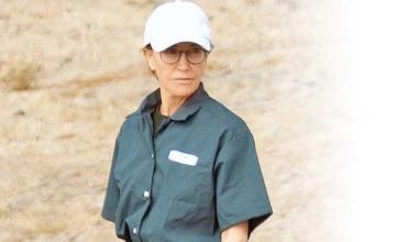 Felicity Huffman spotted in prison uniform