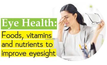 Eye Health: Foods, vitamins and nutrients to improve eyesight
