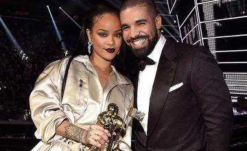 Rihanna gave Drake the gift of her presence for 'several hours' at his birthday party