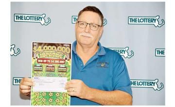 Massachusetts man wins $1 million jackpot for the second time in 18 months
